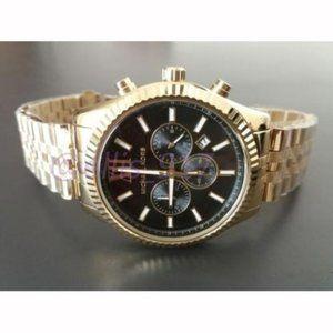 NWT Authentic Michael·Kors Gold Lexington Watch